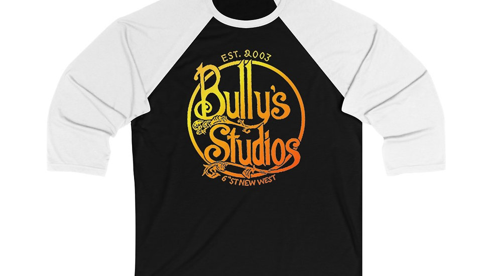 Bully's Summer Unisex 3/4 Sleeve Baseball Tee