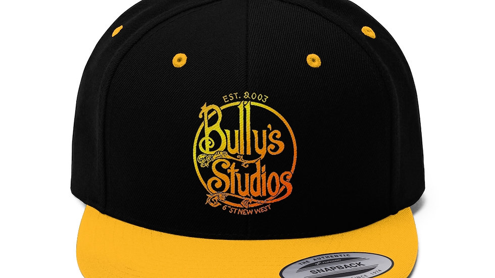 Bully's Summer Unisex Flat Bill Hat