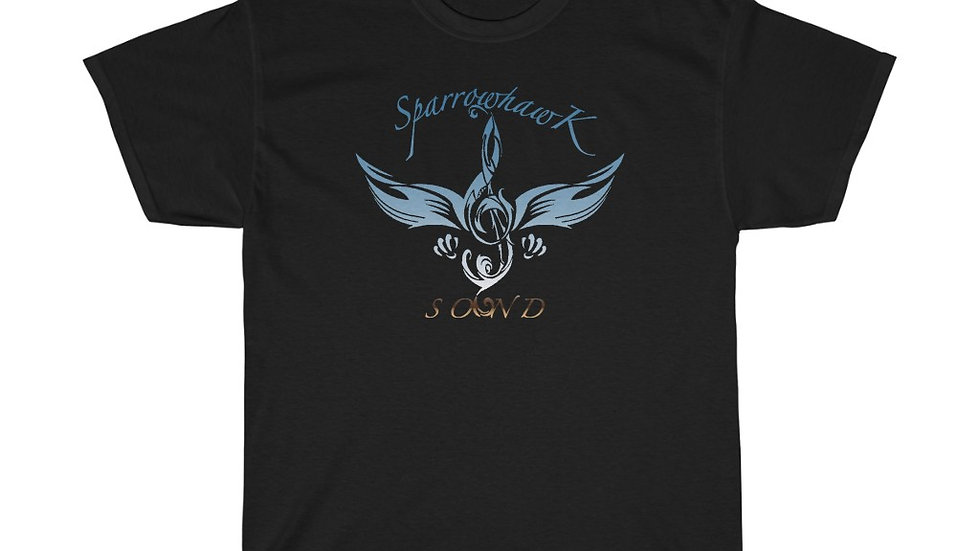 SparrowHawk Sky Unisex Heavy Cotton Tee