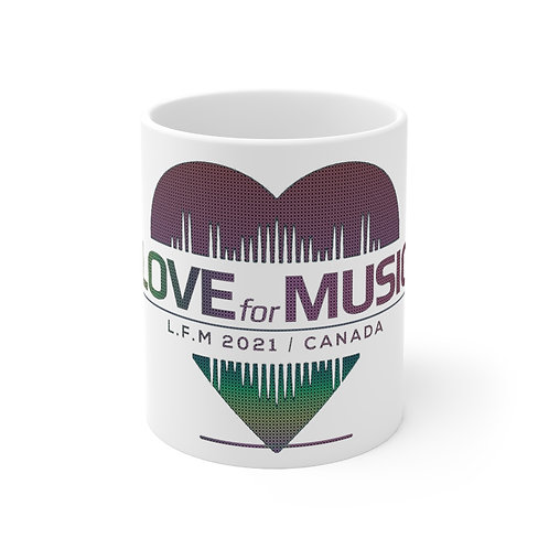 Love For Music 2021 Ceramic Mug 11oz