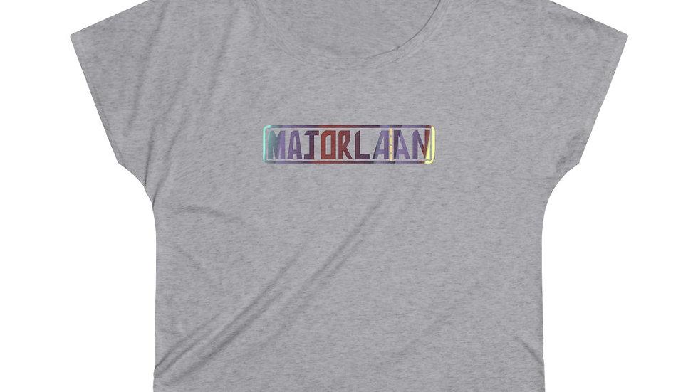Majorlaan Women's Tri-Blend Dolman