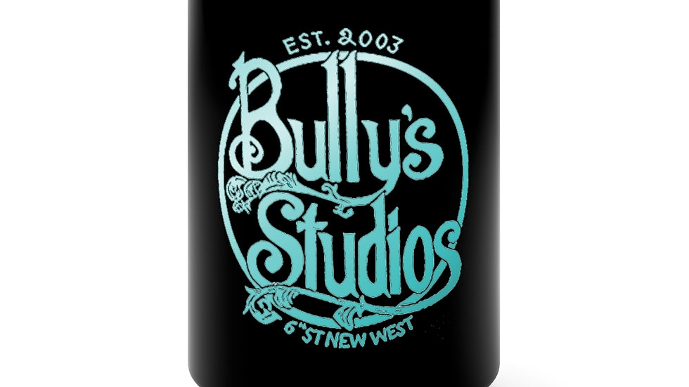 Bully's Winter Black Mug 15oz