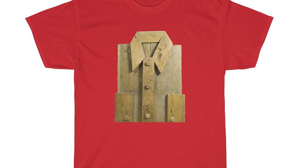 Wooden Shirt Unisex Heavy Cotton Tee