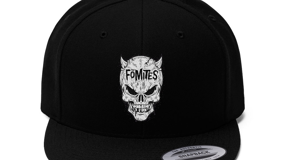 Fomites Unisex Flat Bill Hat