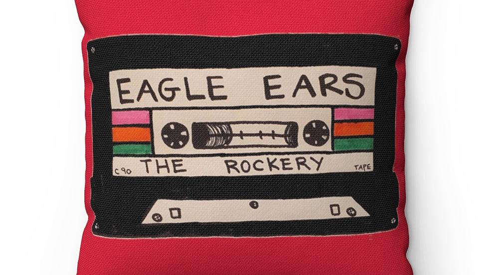 Eagle Ears Spun Polyester Square Pillow