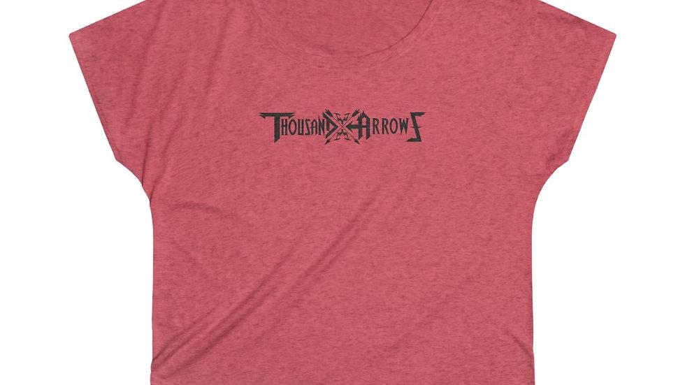 Thousand Arrows Women's Tri-Blend Dolman