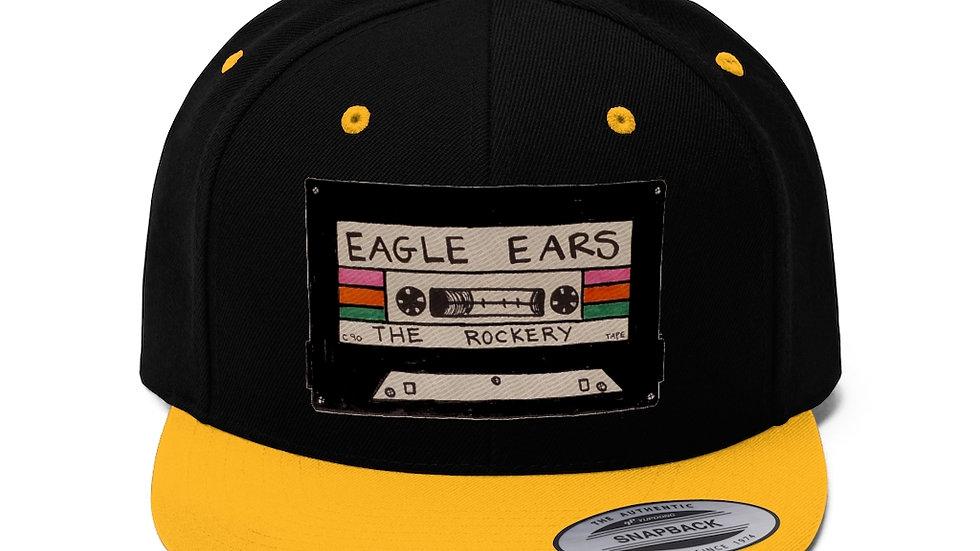 Eagle Ears Unisex Flat Bill Hat