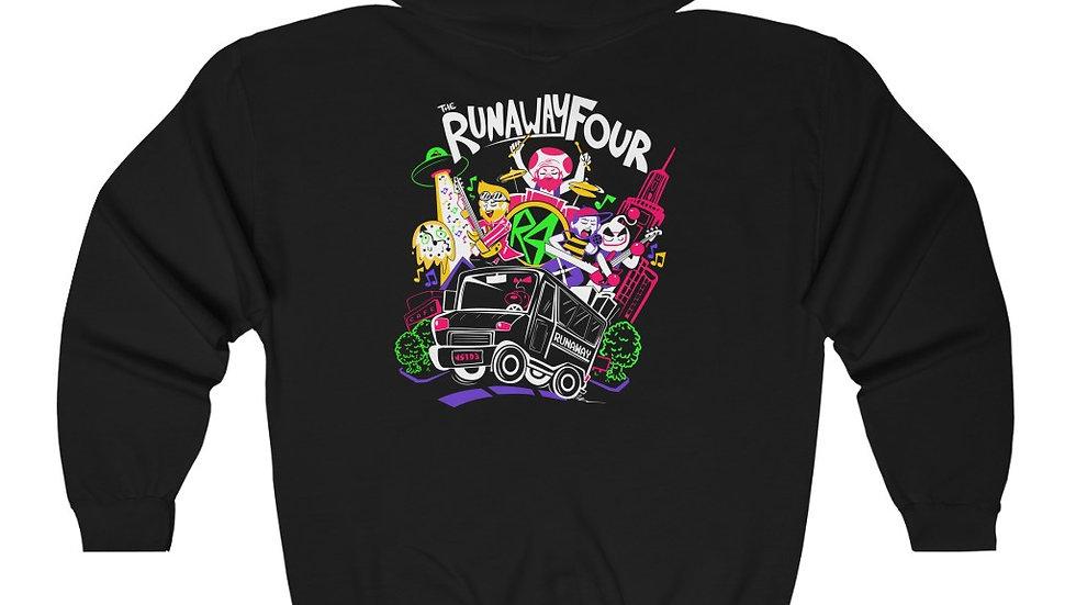 The Runaway Four - Moonside Unisex Hooded Sweatshirt