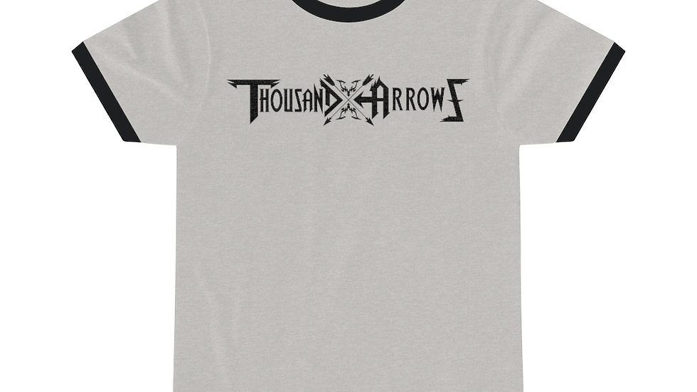 Thousand Arrows Unisex Ringer Tee
