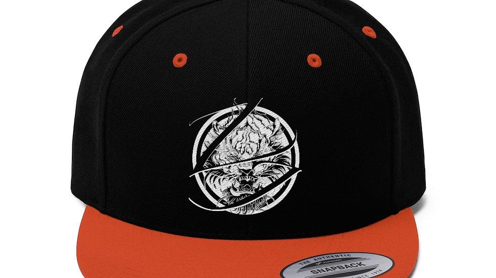 Zen Junkie Unisex Flat Bill Hat