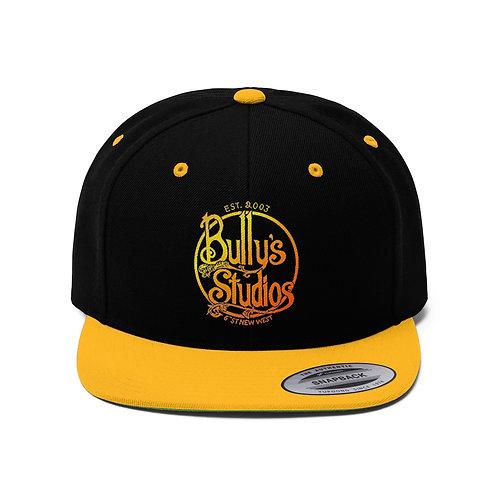 Bully's Unisex Flat Bill Hat