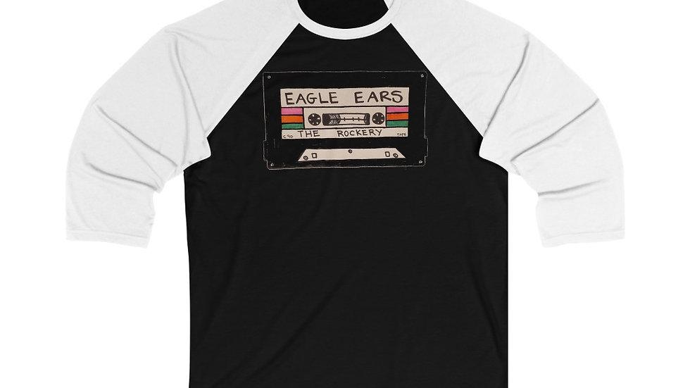 Eagle Ears Unisex 3/4 Sleeve Baseball Tee