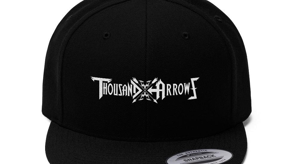 Thousand Arrows Unisex Flat Bill Hat