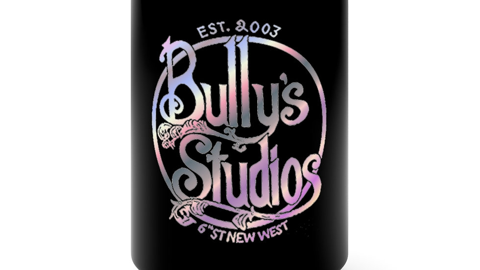 Bully's Spring Black Mug 15oz