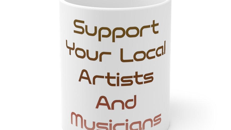 SAAM Support 11oz Mug