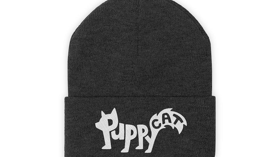Puppycat Knit Beanie