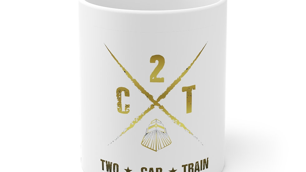 Two Car Train Mug 11oz