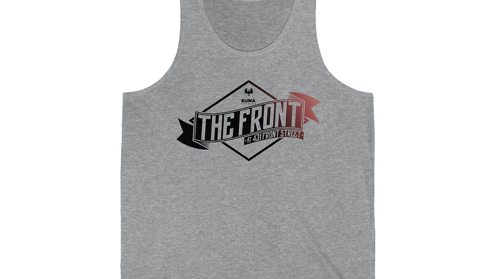 The Front Unisex Jersey Tank