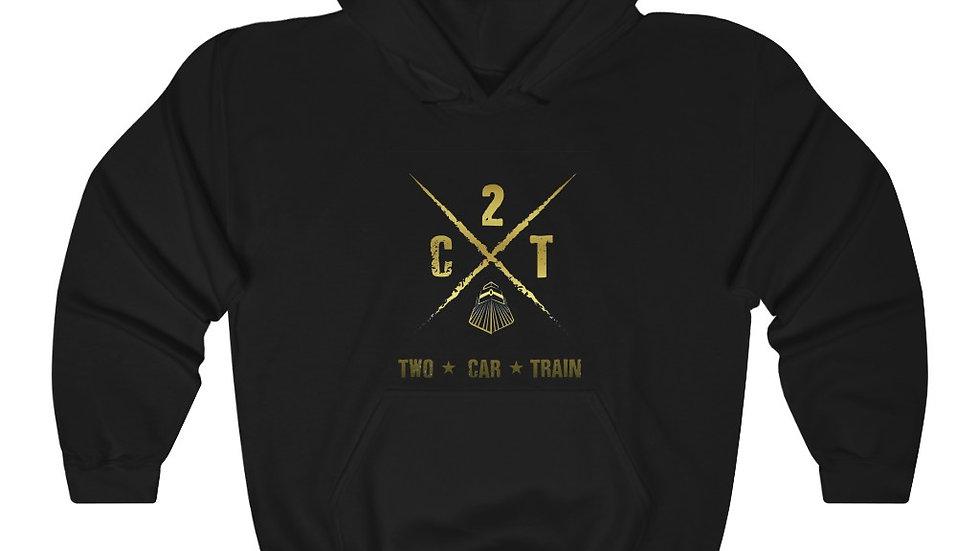 Two Car Train Unisex Heavy Blend™ Hooded Sweatshirt