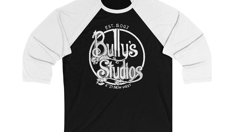 Bully's Unisex 3/4 Sleeve Baseball Tee
