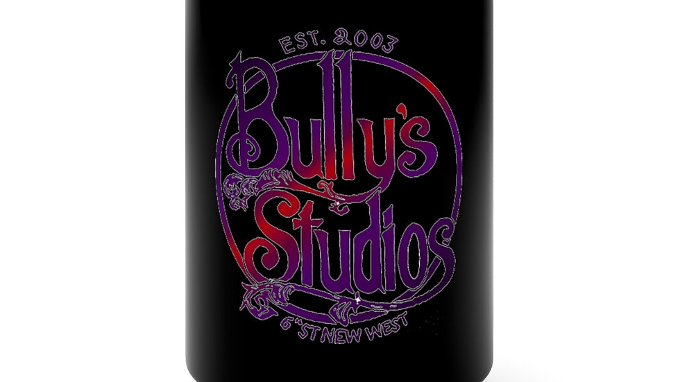 Bully's Fall Black Mug 15oz