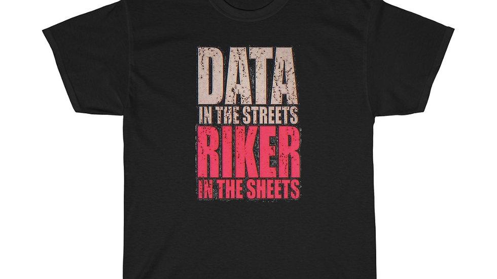 Data/Riker Unisex Heavy Cotton Tee