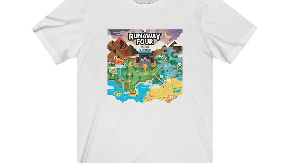 The Runaway Four - Live from the Overworld Unisex Tee