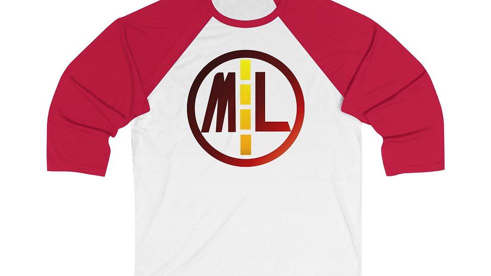 Majorlaan Unisex 3/4 Sleeve Baseball Tee