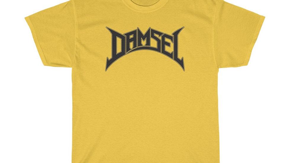 Damsel Black Unisex Heavy Cotton Tee