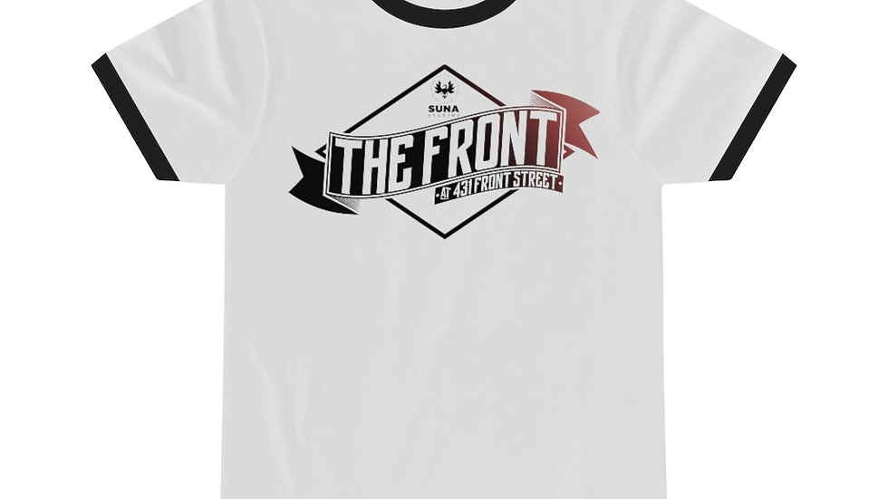 The Front Unisex Ringer Tee