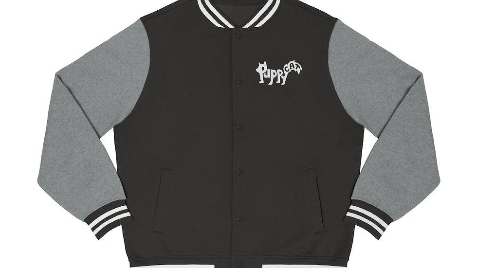 Puppycat Men's Varsity Jacket