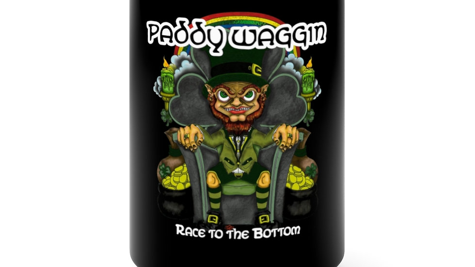 Paddywaggin Black Mug 15oz