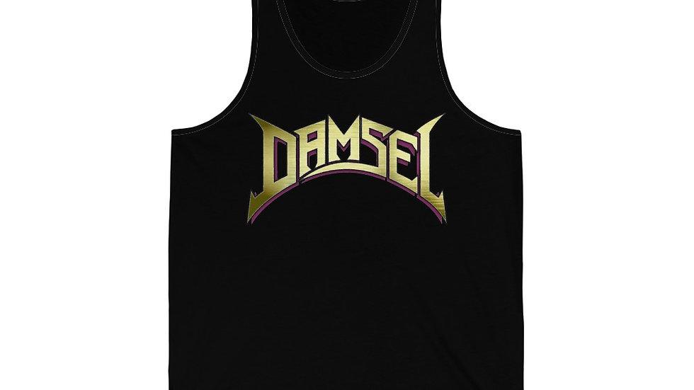 Damsel Gold Unisex Jersey Tank