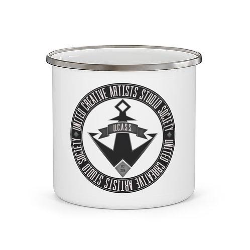 U.C.A.S.S. Enamel Campfire Mug