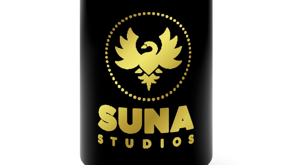 Suna Gold Black Mug 15oz