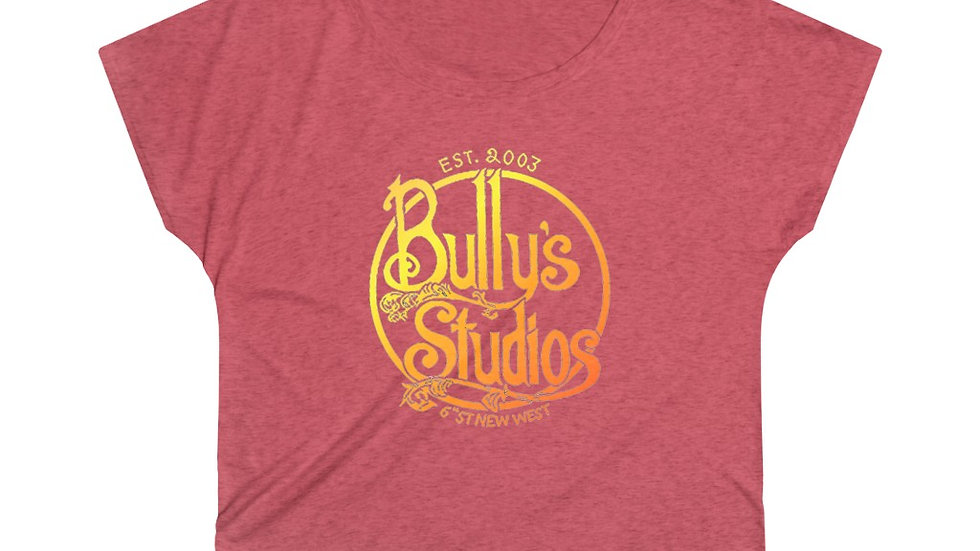 Bully's Summer Women's Tri-Blend Dolman