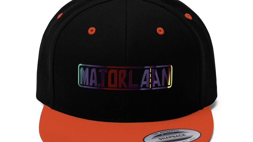 Majorlaan Unisex Flat Bill Hat