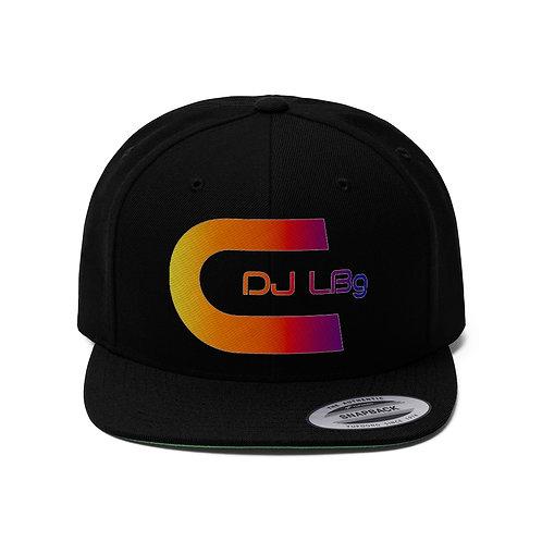 DJ LBg Unisex Flat Bill Hat