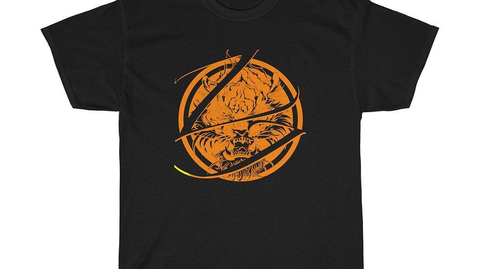 Zen Junkie Orange Tiger Unisex Heavy Cotton Tee