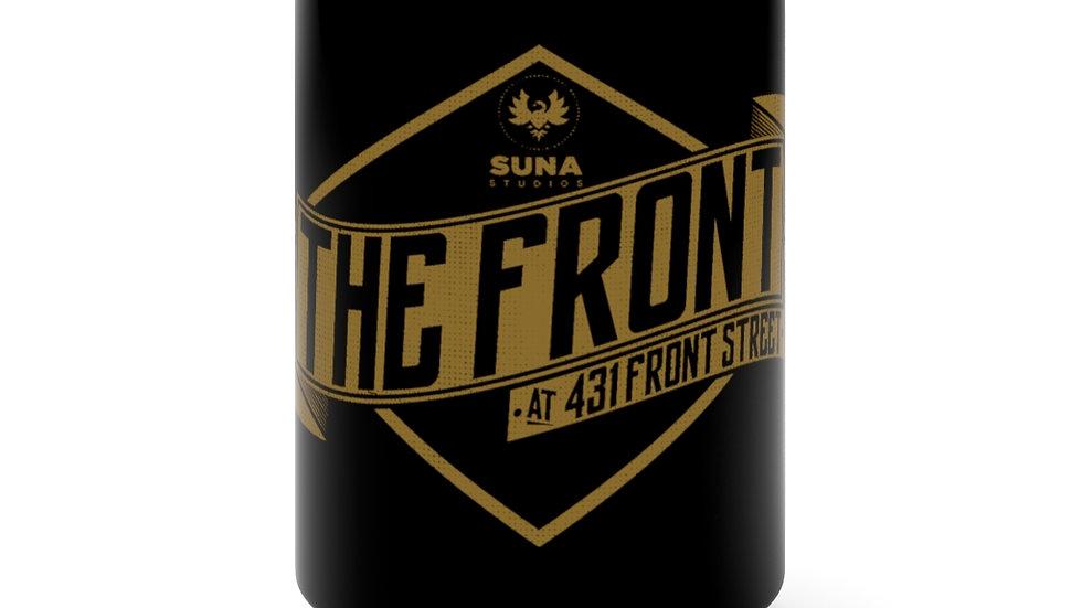 The Front Black Mug 15oz