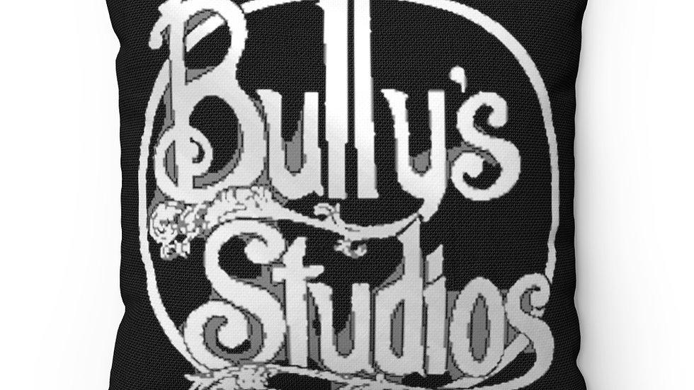 Bully's Spun Polyester Square Pillow