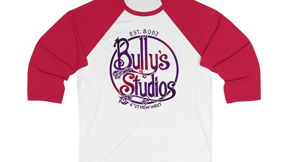 Bully's Fall Unisex 3/4 Sleeve Baseball Tee