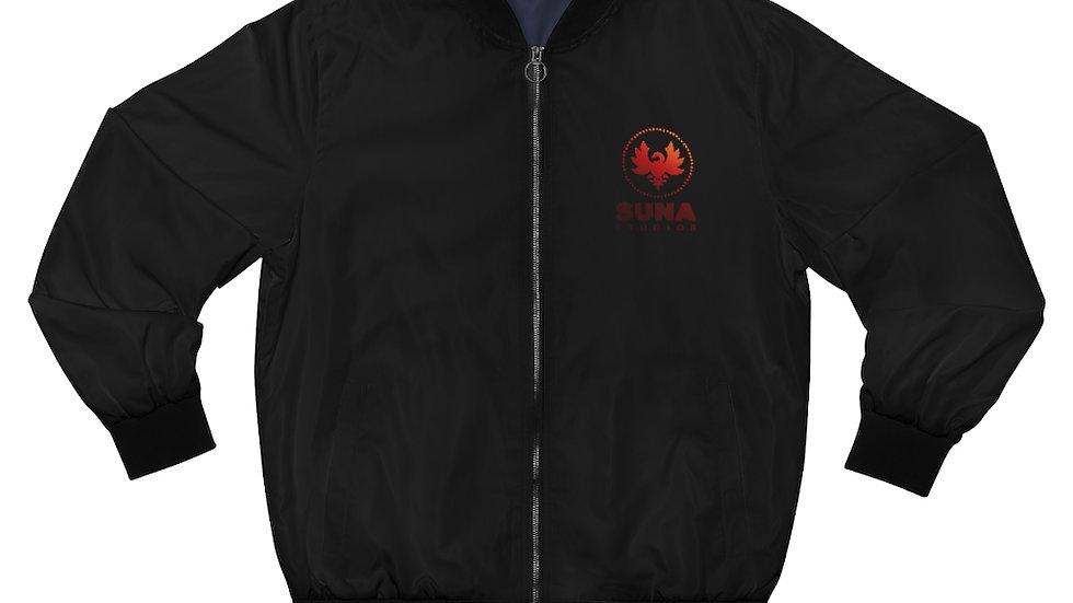 Suna Men's AOP Bomber Jacket
