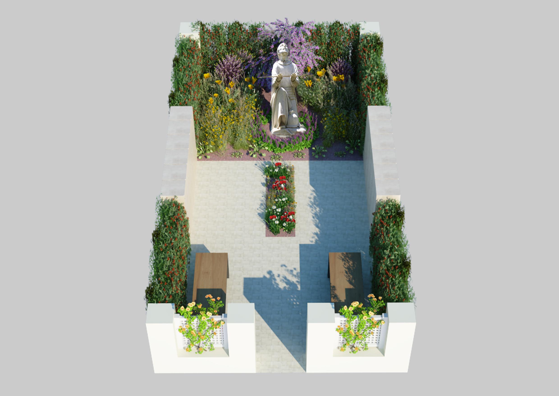 St. Ignatius Garden (10x20)
