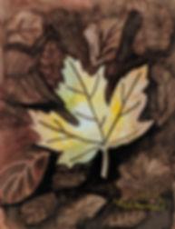 2018Apr_Negative painted leaves WC.jpg