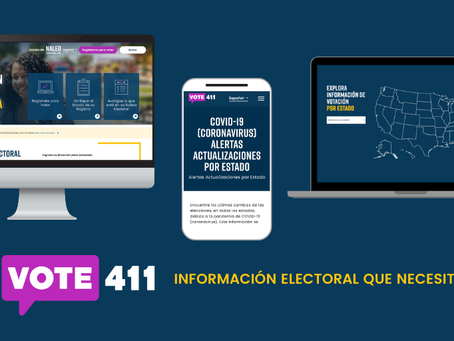 Vote 411 is now in Spanish