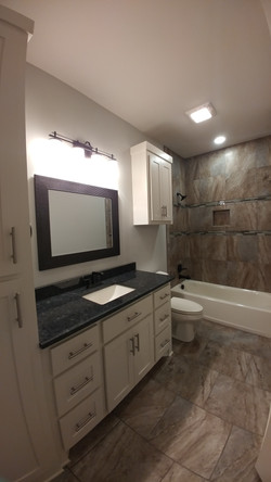 Cambridge Village Guest Bathroom