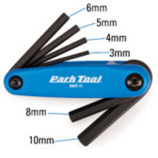 Park Tool Fold-up Hex wrench set AWS-11