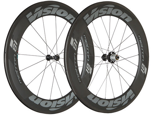Vision Metron 81 TL Wheelset
