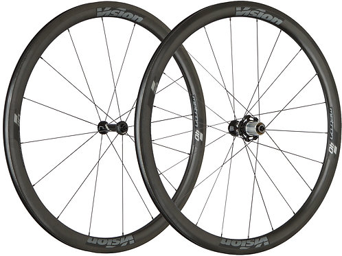 Vision Metron 40 TL Clincher Wheelset
